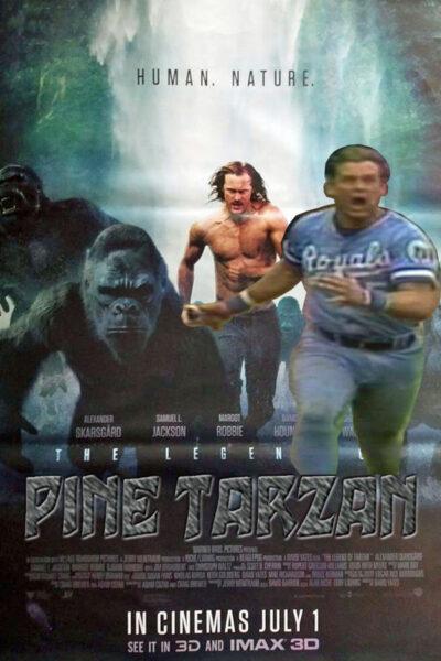 The Legend of Pine Tarzan, baseball movie