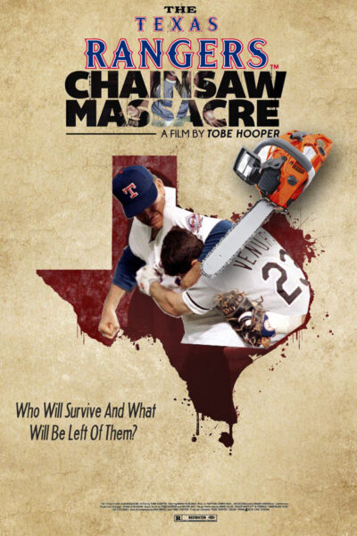 Texas Rangers Chainsaw Massacre, baseball movie