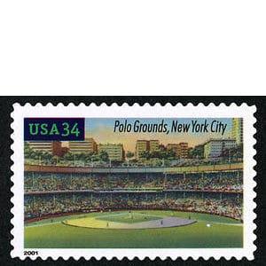 Polo Grounds, Legendary Playing Fields, U.S. Postage Stamp – 34¢