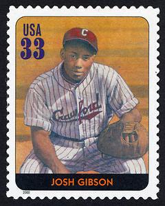 Josh Gibson, Legends of Baseball U.S. Postage Stamp – 33¢