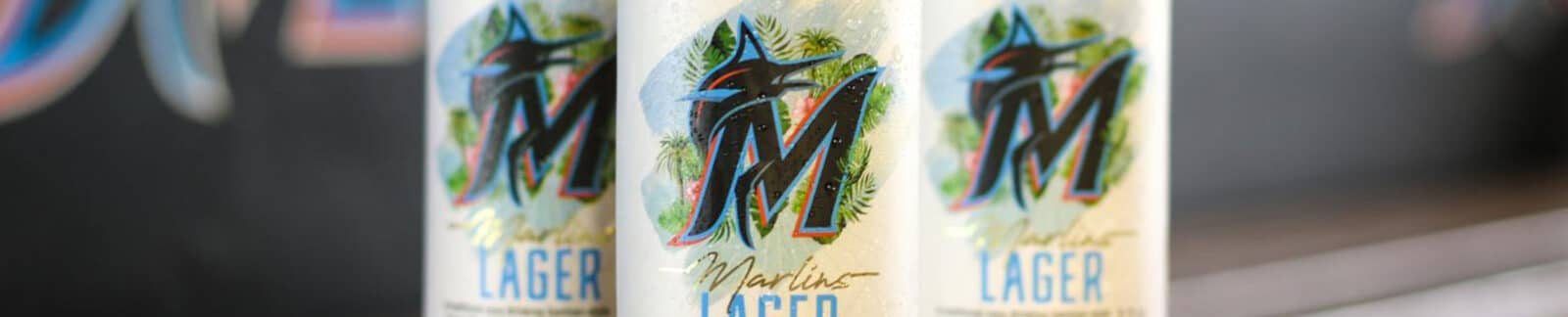 Marlins Lager by Biscayne Bay Brewing Co. header