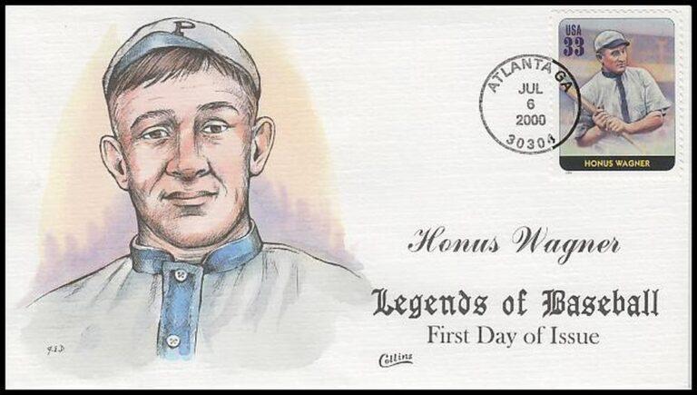 Honus Wagner, Legends of Baseball FDC