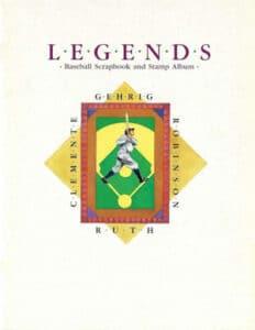 USPS Legends – Baseball Scrapbook and Stamp Album