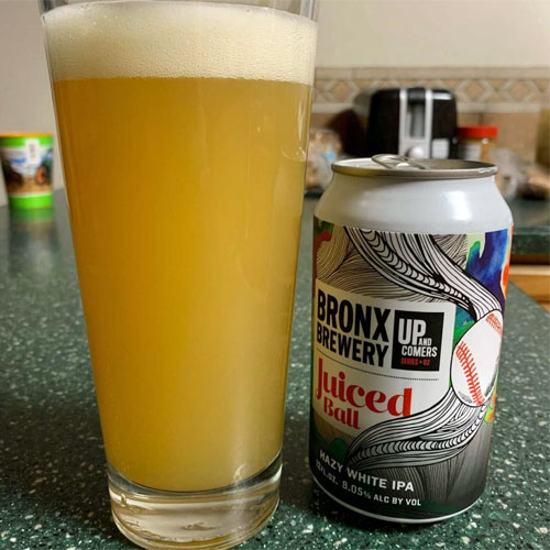 Juiced Ball in a Glass – Bronx Brewery
