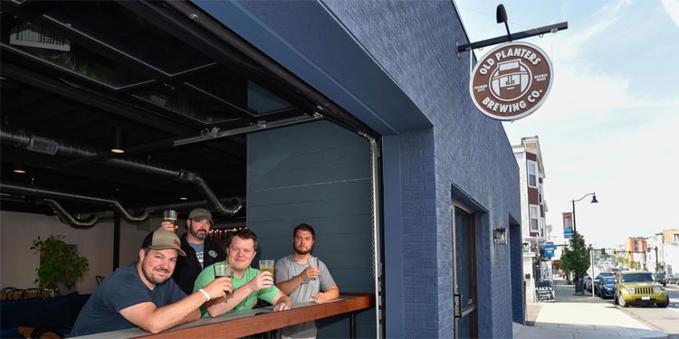 Old Planters Brewing Co. Outside