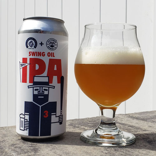 Swing Oil IPA in the Glass