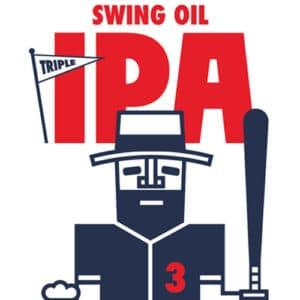 Swing Oil IPA Label Art