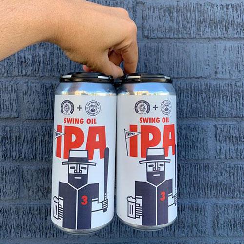 Swing Oil Triple IPA Baseball Beer