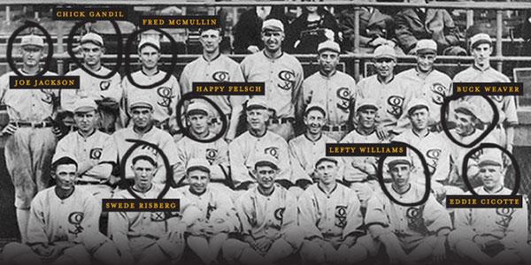1919 Chicago Black Sox Scandal