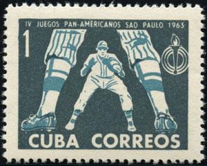 1963 Cuba – IV Juegos Pan-Americanos Sao Paulo 1963