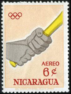 1963 Nicaragua – Olympic Games in Tokyo