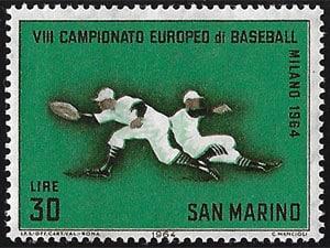 1964 San Marino – VII Campionato Europeo di Baseball, 30 lire