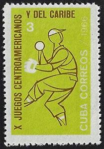 1966 Cuba – X Juegos Centroamericanos y del Caribe