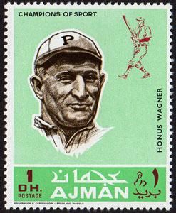 1969 Ajman – Baseball Champions, Honus Wagner