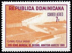 1969 Dominican Republic – XVII Serie Mundial de Beisbol Amateur, 7¢