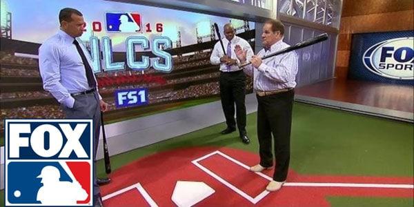 Pete Rose on FOX for MLB