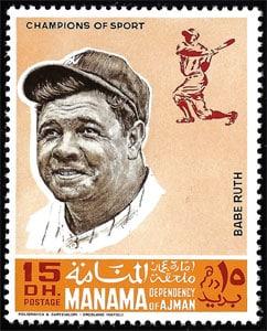 1969 Manama – Baseball Champions, Babe Ruth