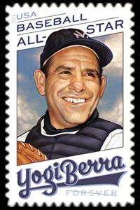 Yogi Berra, 2021 U.S. Postage Stamp – Forever