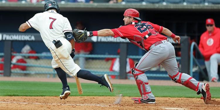 dropped third strike in baseball