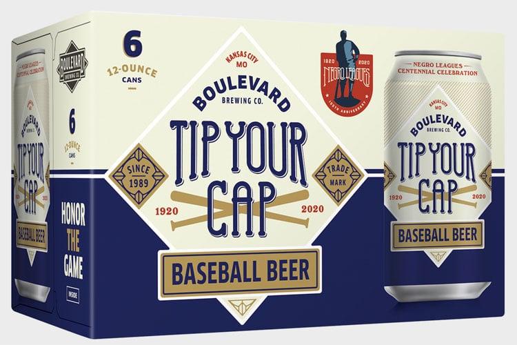 Boulevard Brewing – Tip Your Cap Baseball Beer Case