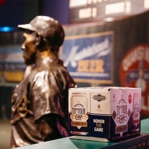 Boulevard Brewing – Tip Your Cap Baseball Beer