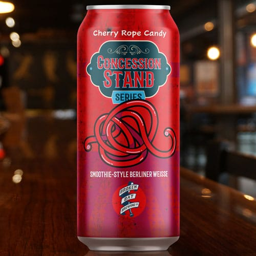 Broken Bat Brewing – Concession Stand, Cherry Rope Candy