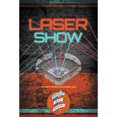 Broken Bat Brewing – Laser Show