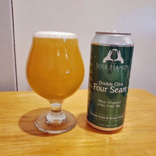 Double Citra Four Seam NE IPA by Idle Hands