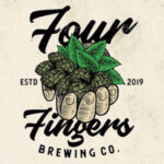 Four Fingers Brewing logo