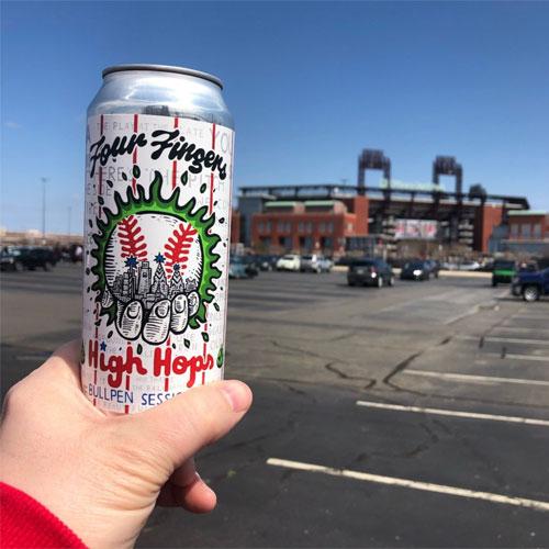 Four Fingers Brewing – High Hops at Ballpark