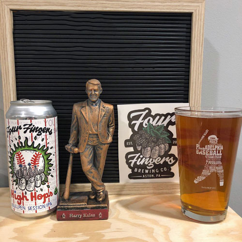 Four Fingers Brewing – High Hops Bullpen Session IPA