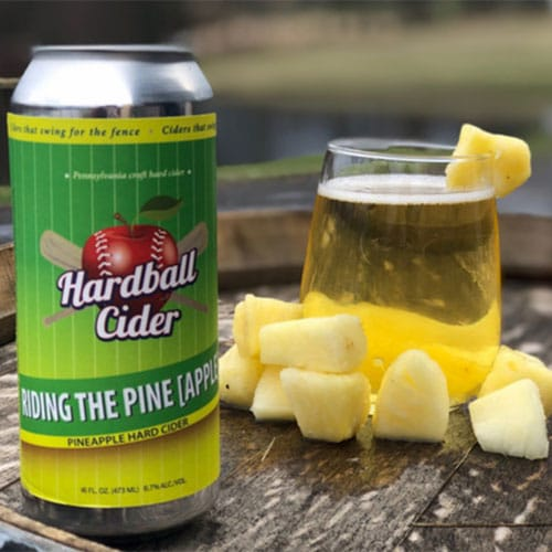 Hardball Cider – Riding the Pine (Apple)