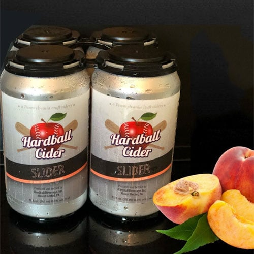 Hardball Cider – Slider (Peach)