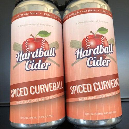 Hardball Cider – Spiced Curveball