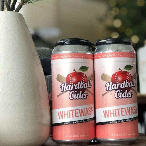 Hardball Cider – Whitewash (Peach)