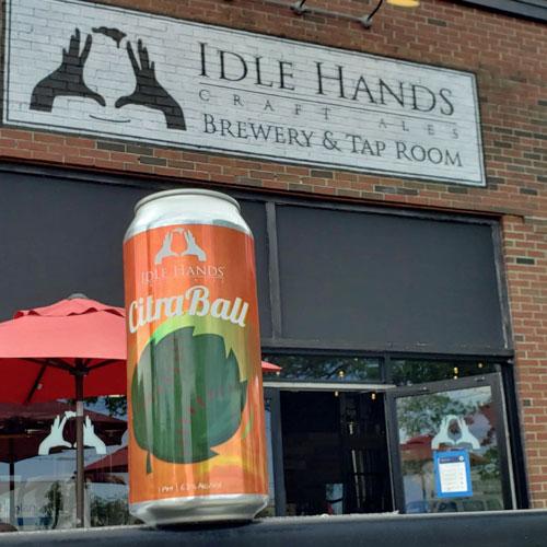 Idle Hands – CitraBall IPA