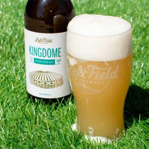 Leftfield Brewery – Kingdome beer
