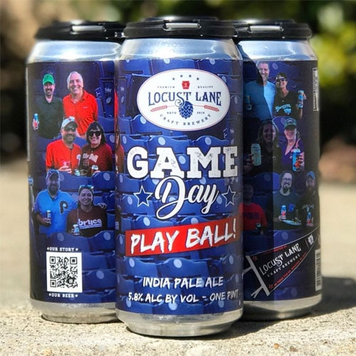 Locust Lane – Game Day, Play Ball IPA