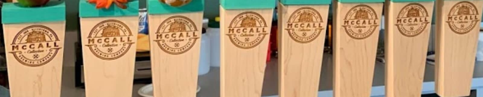 McCall Collective tap header