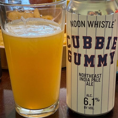 Noon Whistle Brewing – Cubbie Gummy IPA