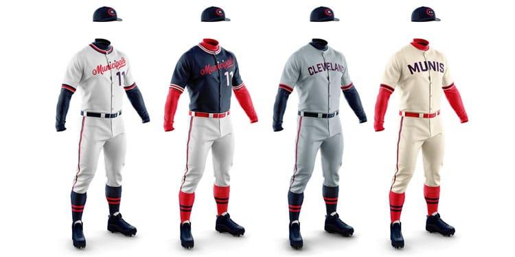 Saucy Brew Works – Cleveland Municipals uniforms