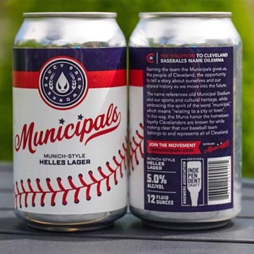 Saucy Brew Works – Municipals cans