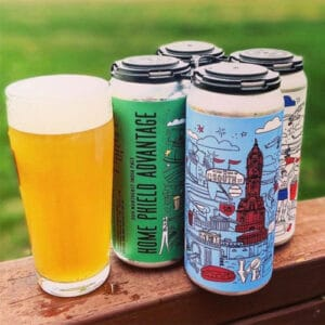 Second Sin – Home Phield Advantage beer cans