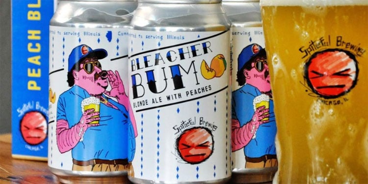 Spiteful Brewing – Bleacher Bum Blonde Ale with Peaches