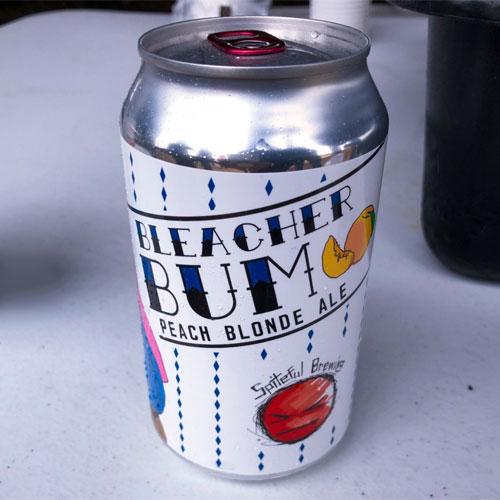 Spiteful Brewing – Bleacher Bum Peach Blonde Ale
