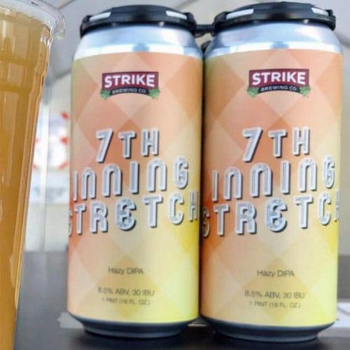 Strike Brewing – 7th Inning Stretch Hazy DIPA