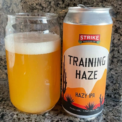 Strike Brewing – Training Haze, Hazy IPA