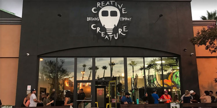 Creative Creature Brewing – Outside