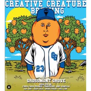 Creative Creature Brewing – Grossmont Grove Sour IPA