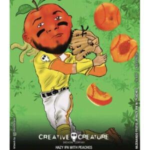 Creative Creature Brewing – Hazenado Frutis Jr Hazy IPA with Peaches